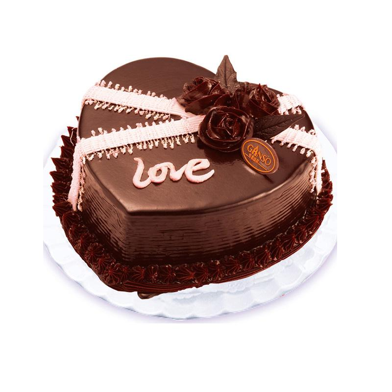 Chocolate Love Heart Cake | www.pixshark.com - Images ...