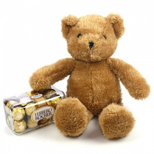 Ferrero Rocher Gift with Bear