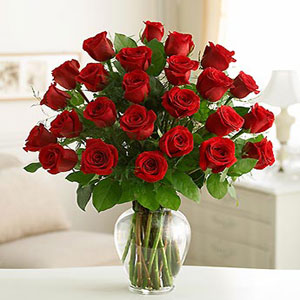 ID:5092 - Rose vase arrangement